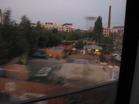 A random shot of Berlin out of the train window