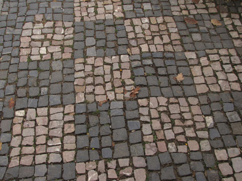 Prague pavement